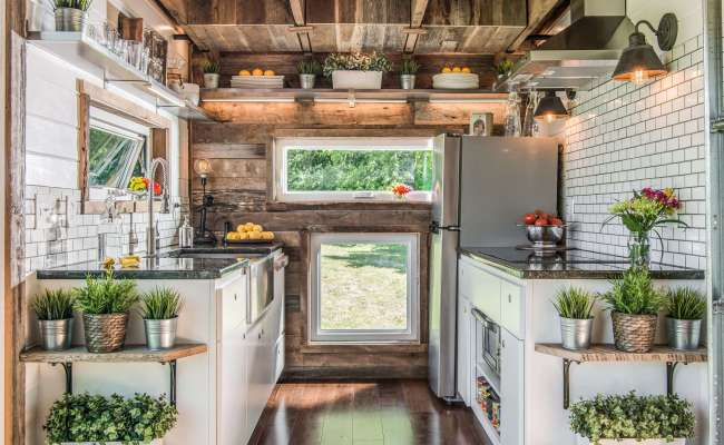 This Unique Tiny House Is Filled With Farmhouse Inspired Style