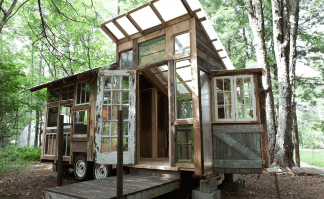 This Rustic Tiny Cabin In The Catskills Is A Dream Getaway