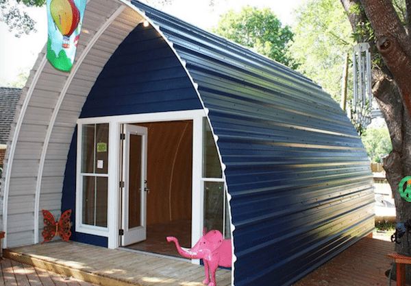 These Prefab Arched Cabins Provide Cozy Homes for Under 10K