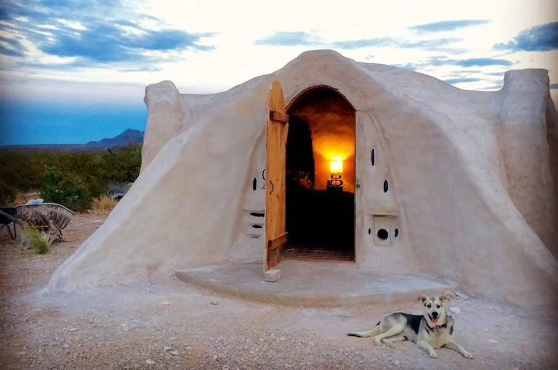 propane kitchen stove design ideas photos stay the night inside an adobe dome in texas desert