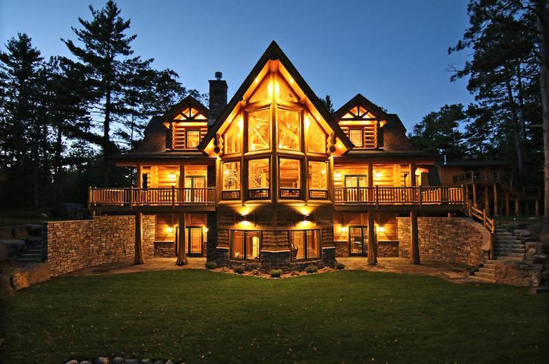 This 2 Million Log Cabin is What Dreams are Made of