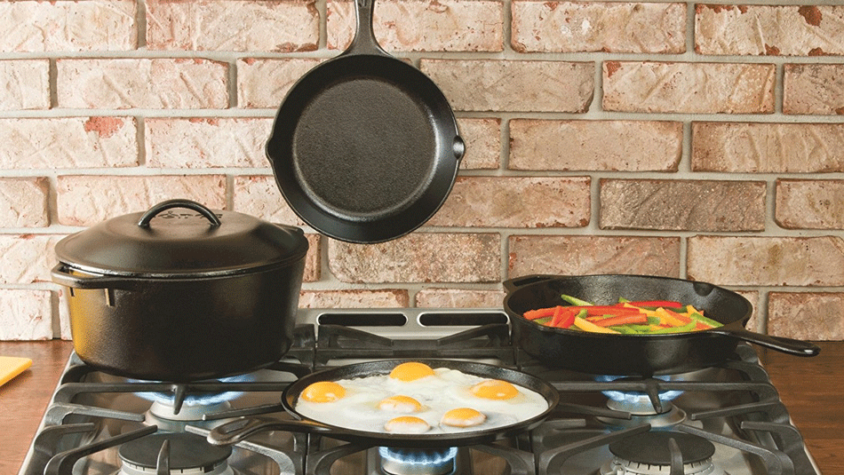 kitchen pans ceramic tile for the 6 best pots and versatile enough any recipe lodge