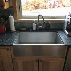Country Kitchen Sink Farmhouse Table And Chairs Sinks What I Think Of The Trend After Installing Mine