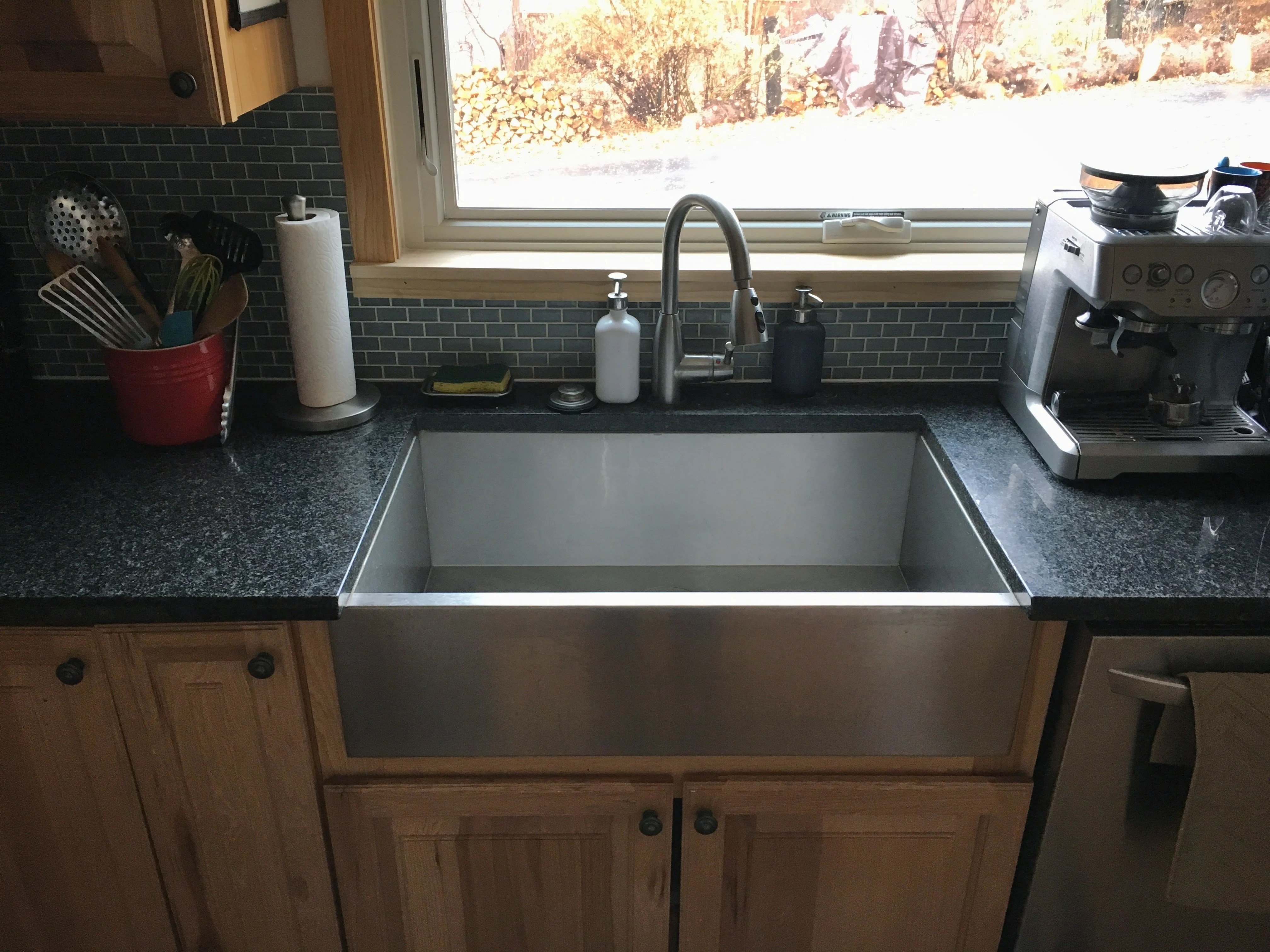 farmers kitchen sink corner farmhouse sinks what i think of the trend after installing mine