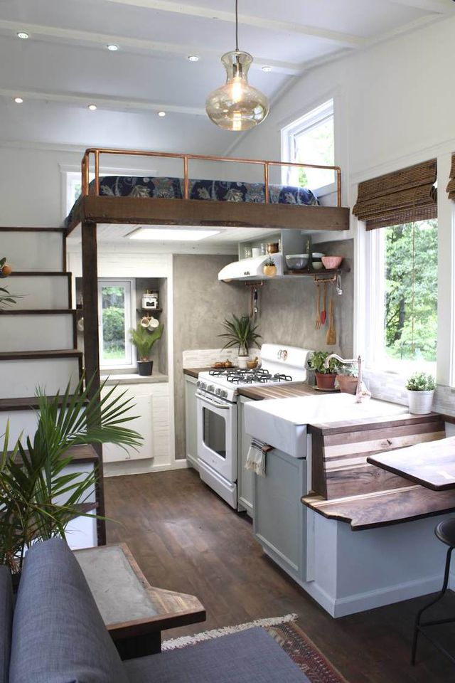 tiny house kitchens unfinished oak kitchen cabinets home depot the 11 that ll make you rethink big