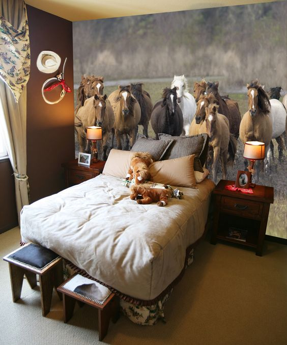 12 Cute Ideas For Decorating A Kid's Horsey Bedroom  Wide