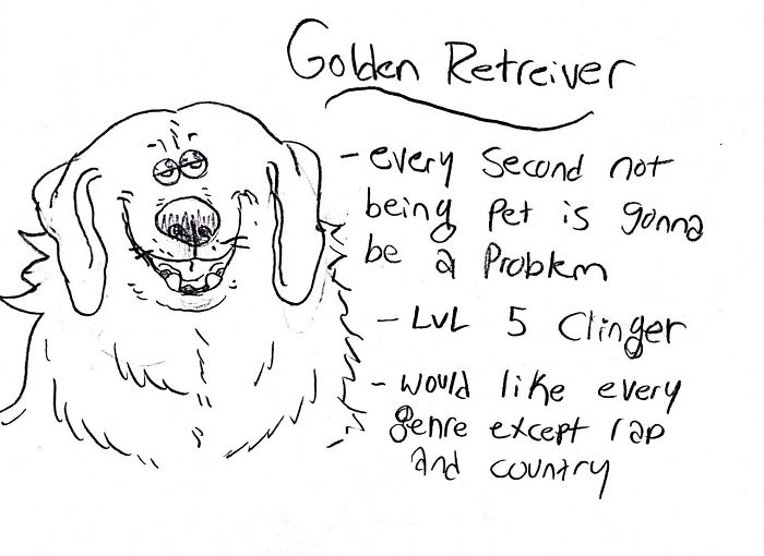 24 Dog Breed Illustrations That Tell the Truth About Their