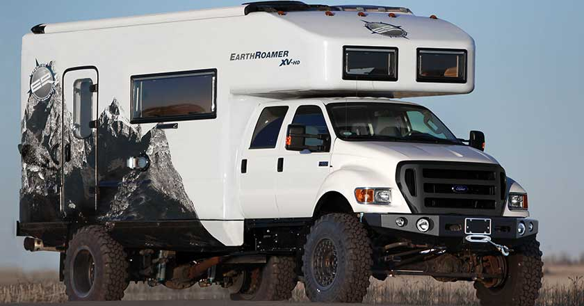 electrical wiring diagram ford f650 12v relay switch 10 tricked-out adventure campers you're gonna wish you owned