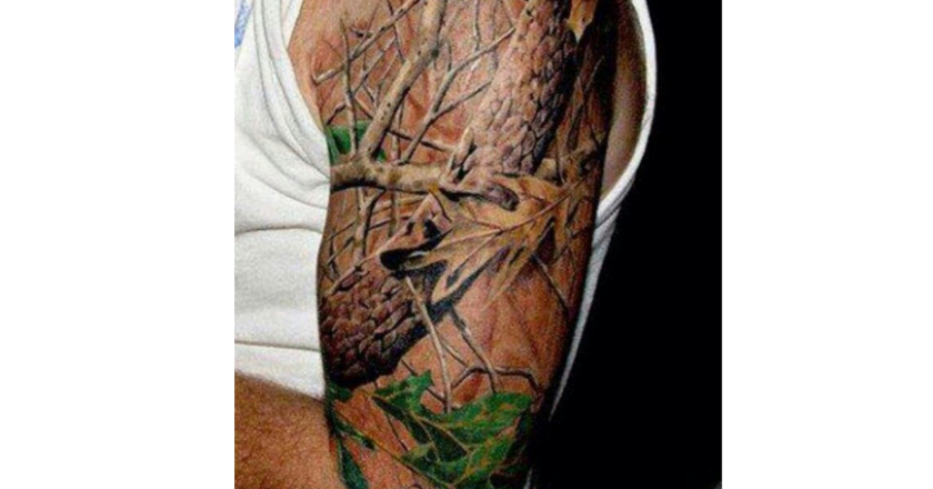 American Paint And Wallpaper Fall River The Internet S 30 Best Hunting Tattoos