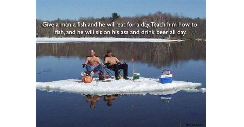 Happy Meme Birthday Fishing Men
