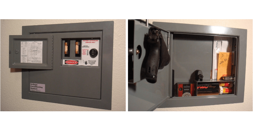 hide fuse box safety