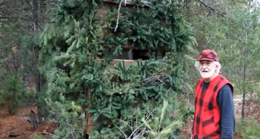 Recycle Your Artificial Christmas Tree Construct A Ground