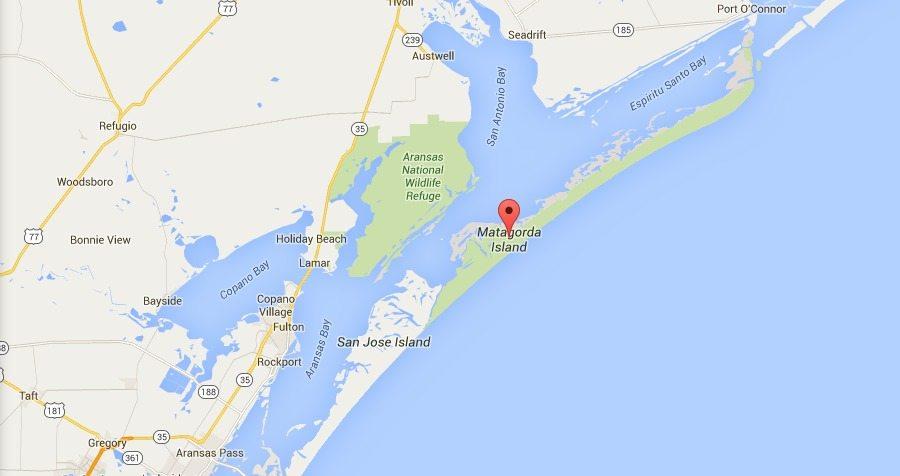Google Maps Texas Gulf Coast
