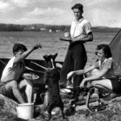 Fishing Chair Small Durable Office Chairs Reviews 10 Vintage Family Camping Photos That Will Take You Back