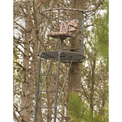 Swivel Chair Tree Stand Used Revolving Olx Lahore 10 Best Reasonably Priced Deer Options Guide Gear Double Rail 360 20 Ladder Treestand