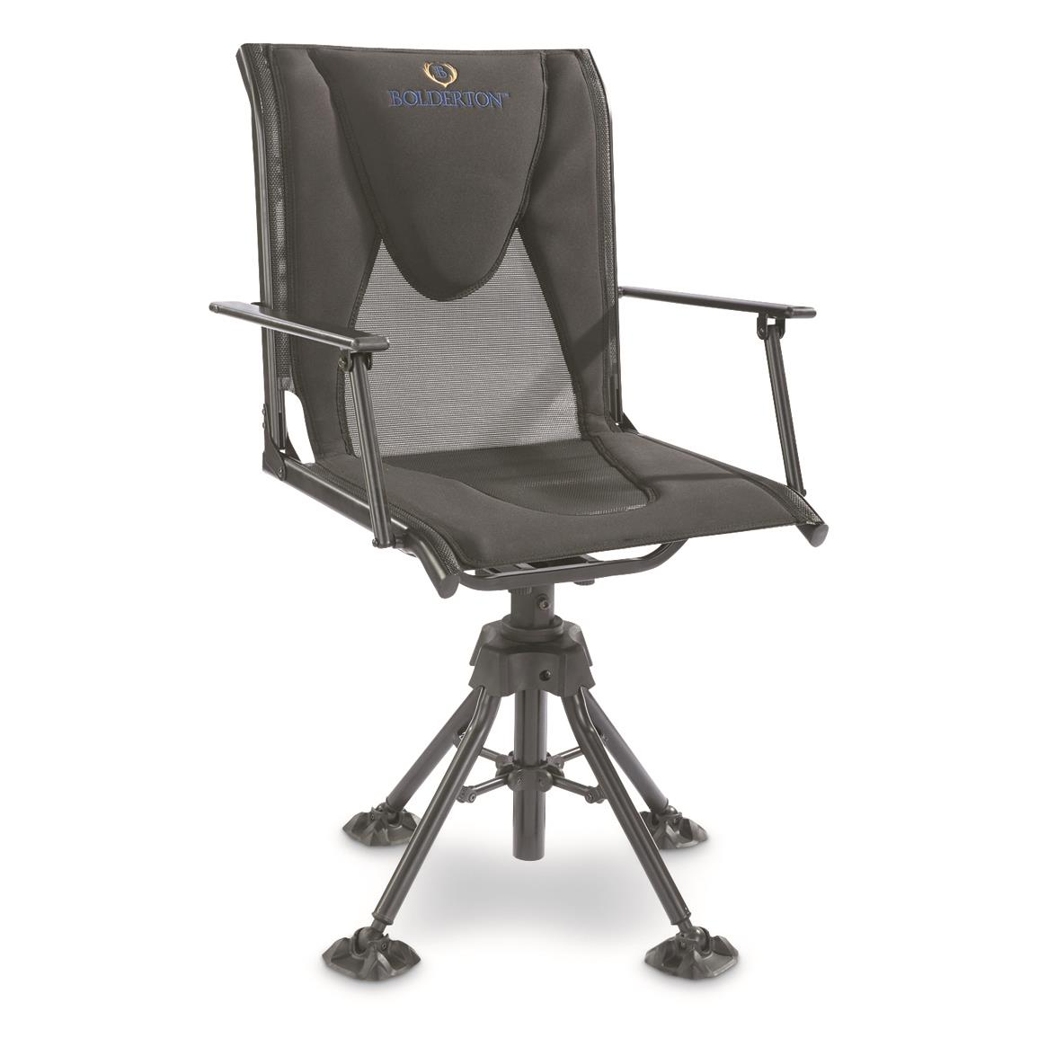 hunting seats and chairs chair stools with arms take a load off these 10 blind bolderton 360 comfort swivel