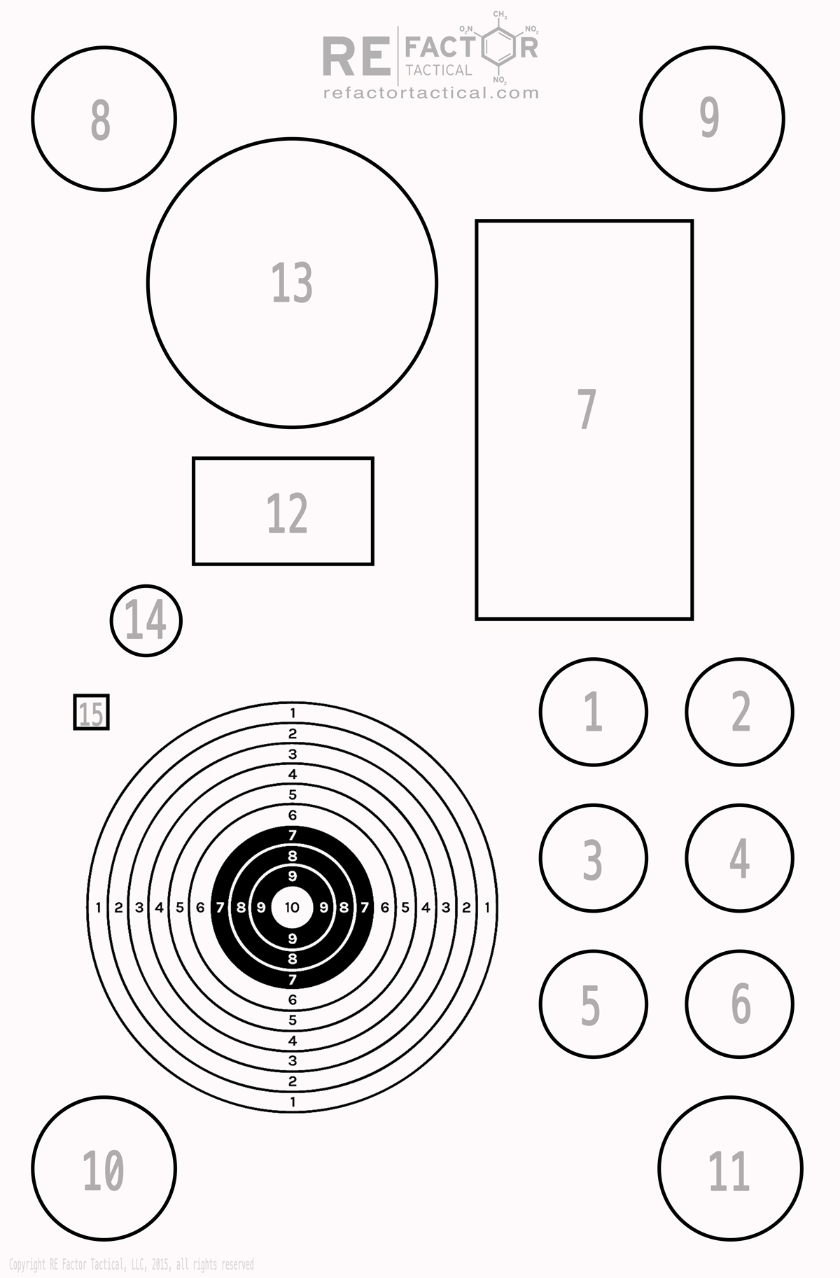 3 Shooting Targets That Take It Beyond a Basic Bullseye