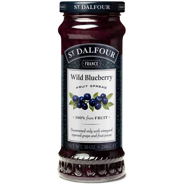 St Dalfour Wild Blueberry Spread 284g Woolworths