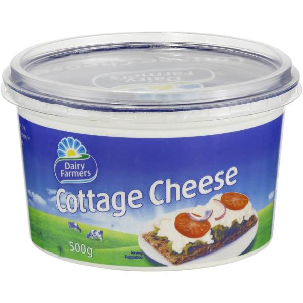 Dairy Farmers Natural Cottage Cheese 500g Woolworths