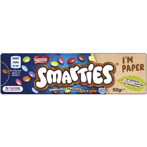Nestle Smarties 50g Box Woolworths