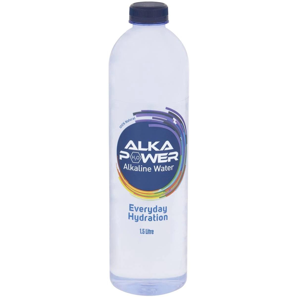 Alka Power Alkaline Water 1.5l bottle   Woolworths