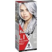 Schwarzkopf Live Colour Hair Colour Pastels Cool Grey each ...