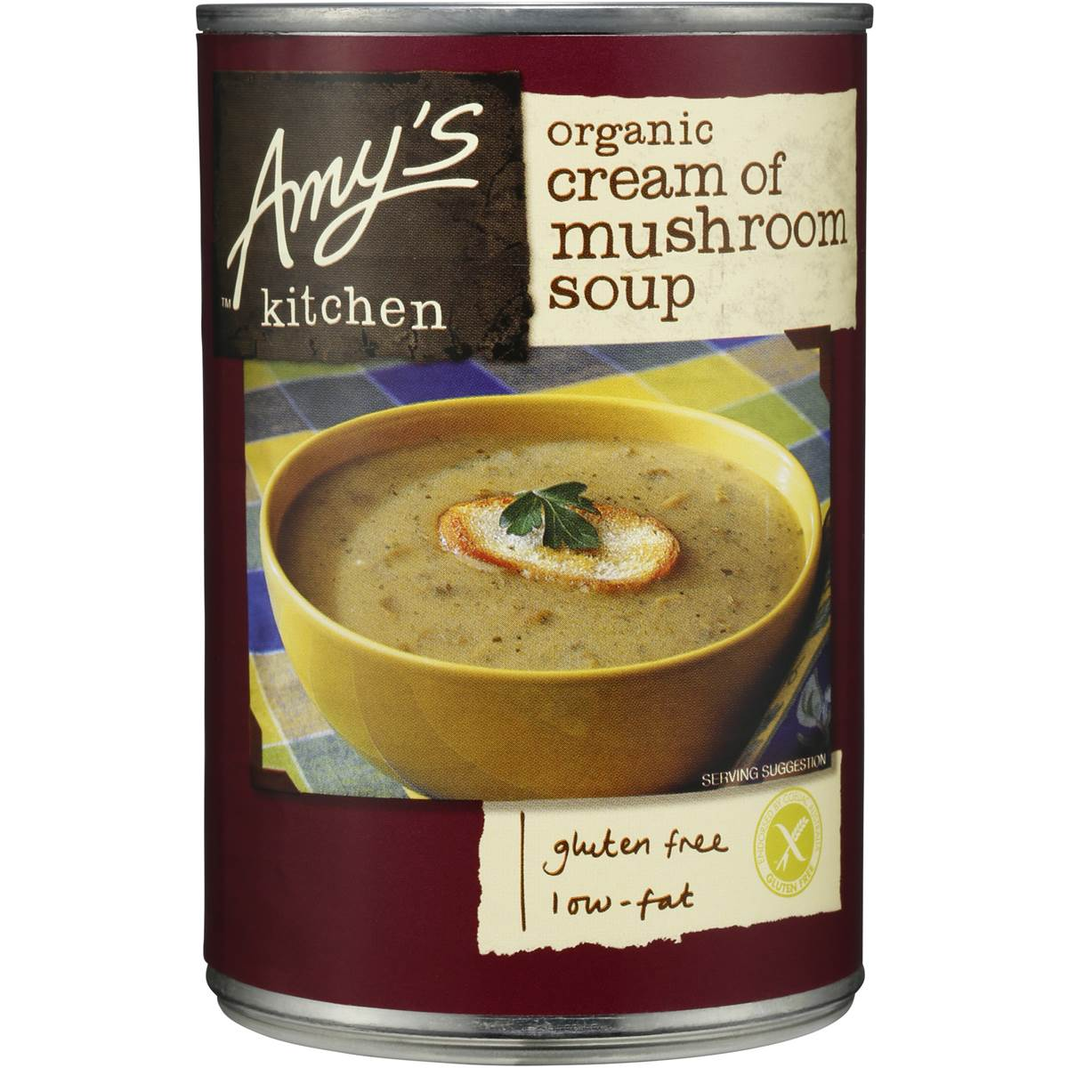 amy's kitchen soup fire suppression system amys canned organic cream of mushroom 400g