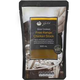 woolworths gold chicken stock