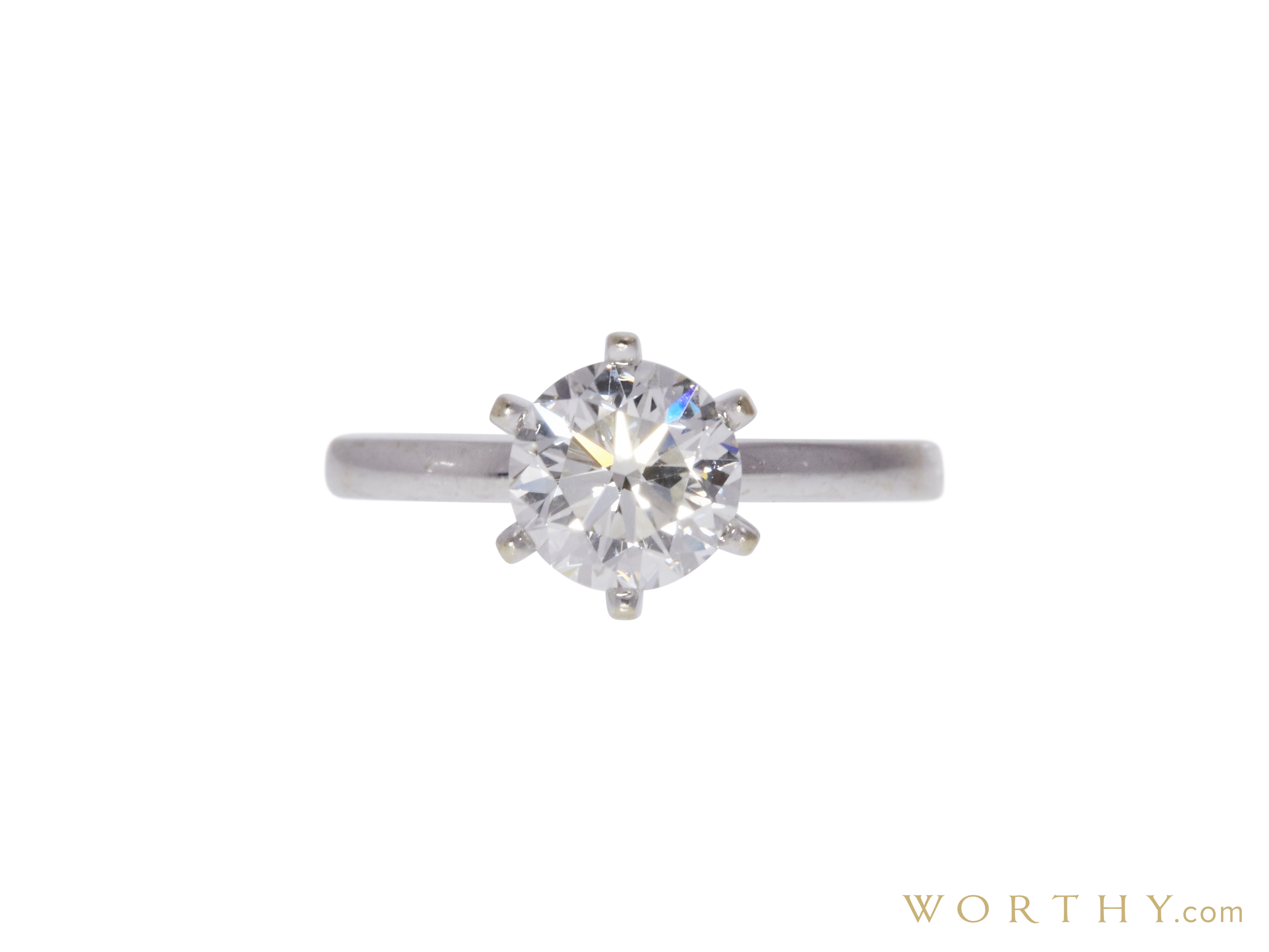 1 51 Ct Round Cut Solitaire Ring