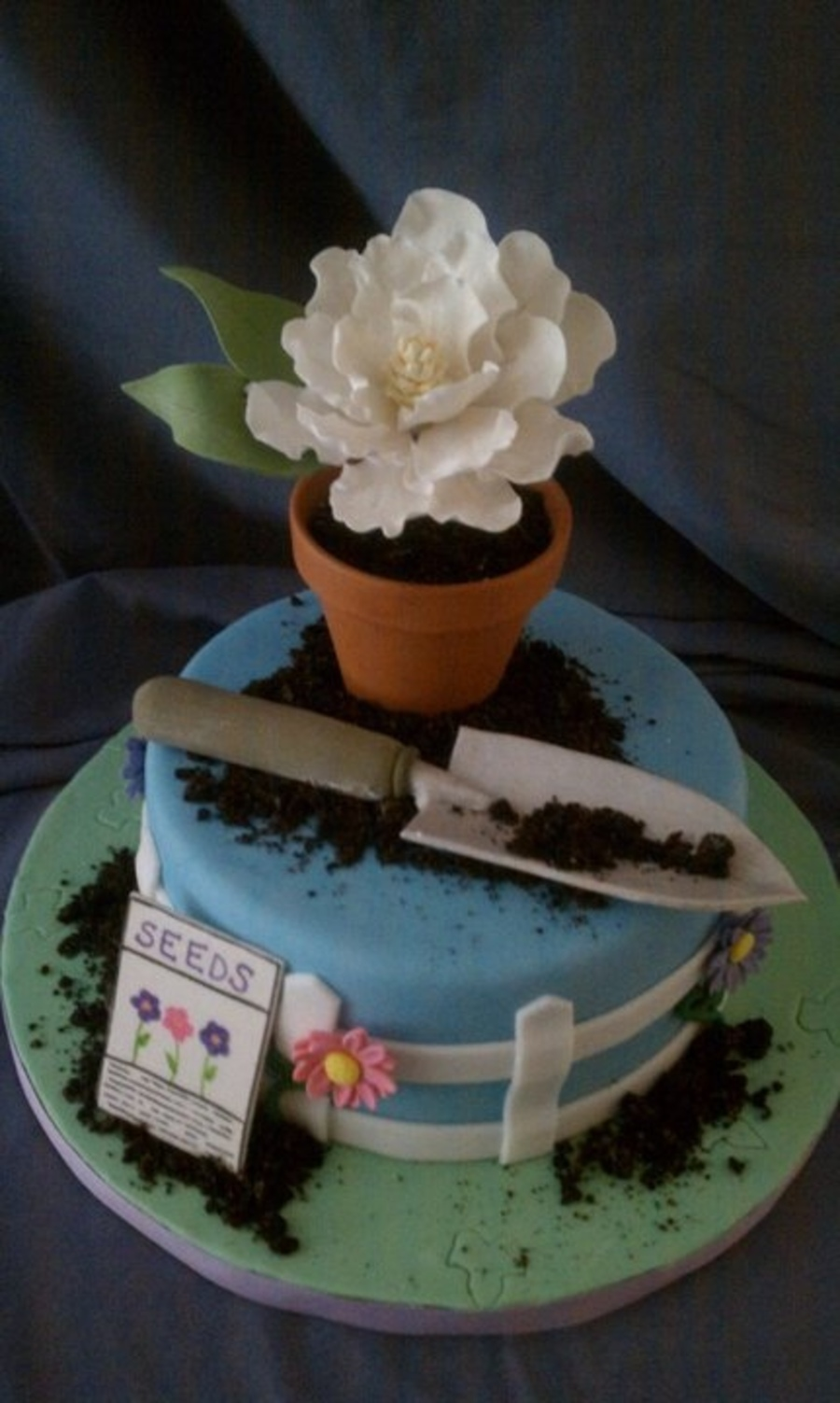 Best Blooming Garden Cakes CakeCentral Com