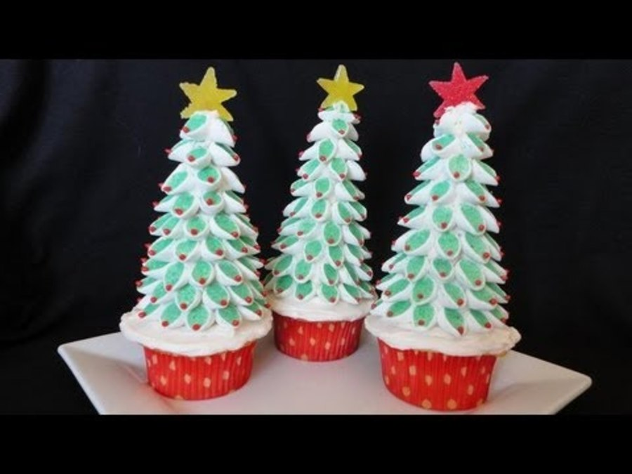 Christmas Tree Marshmallow Topper Tutorial