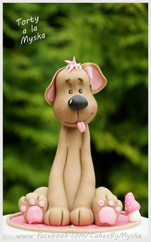 Fondant Dog Tutorial Cakecentral Com