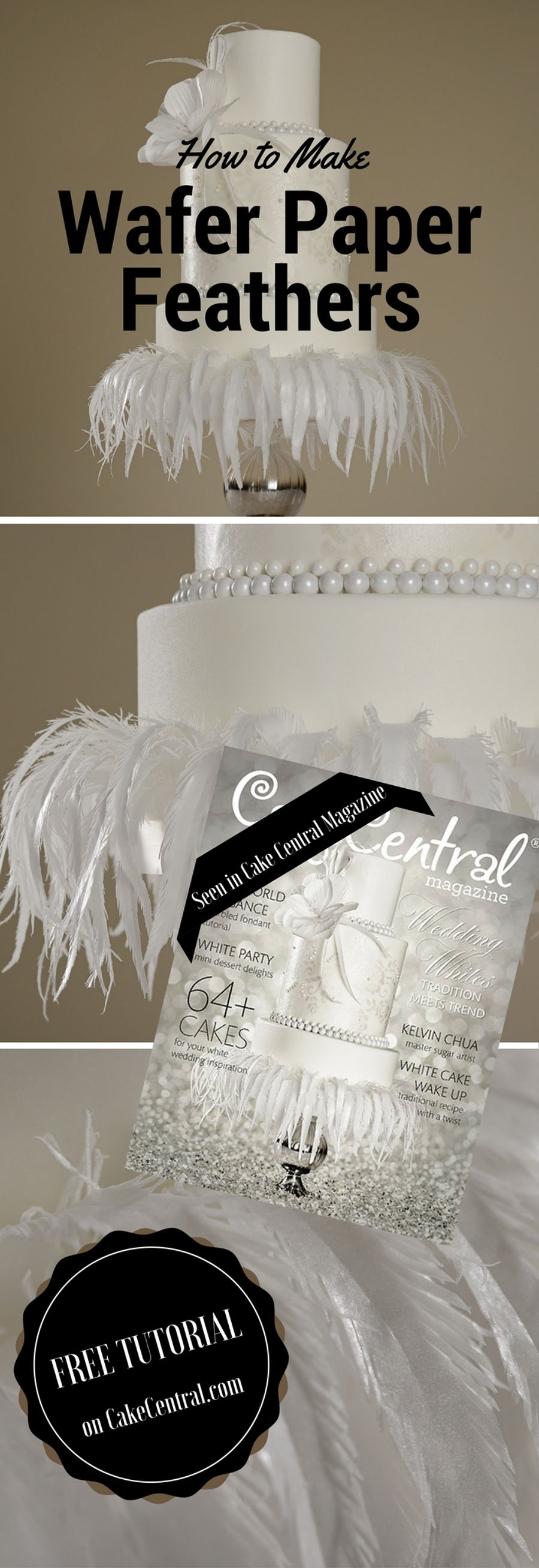 Wafer Paper Feathers  CakeCentralcom