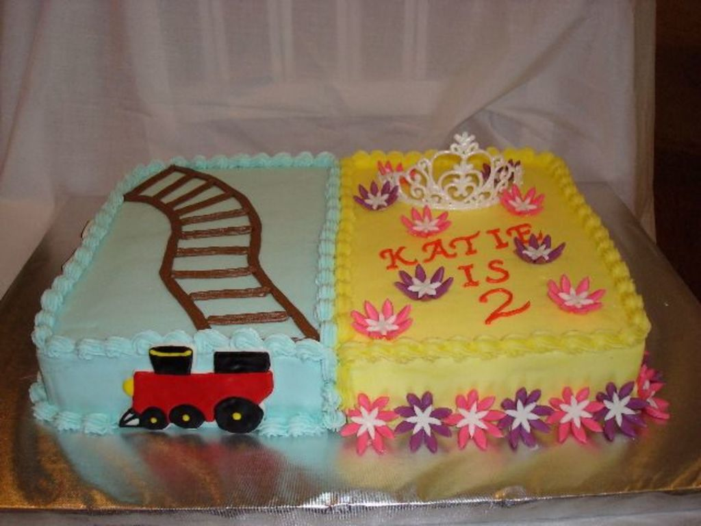 Pics of birthday cakes for girls : Boy Girl Birthday Cake Cakecentral Com