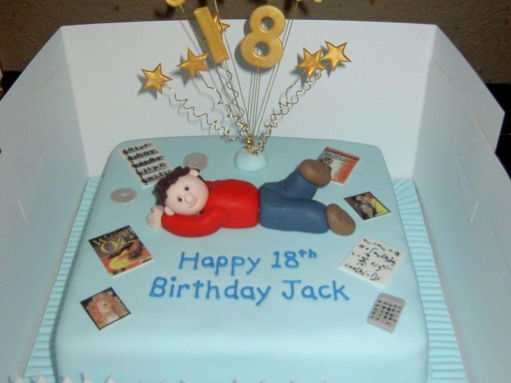 18th Birthday Cake Boy Cakecentralcom