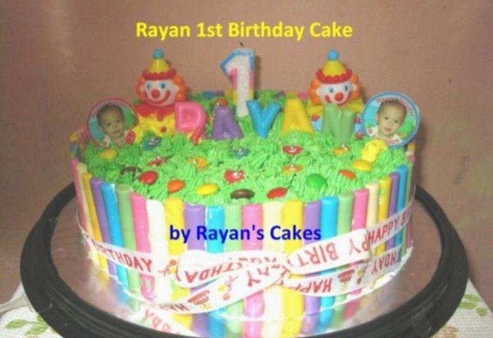 My First Birthday Cake For My Baby Boy Cakecentralcom