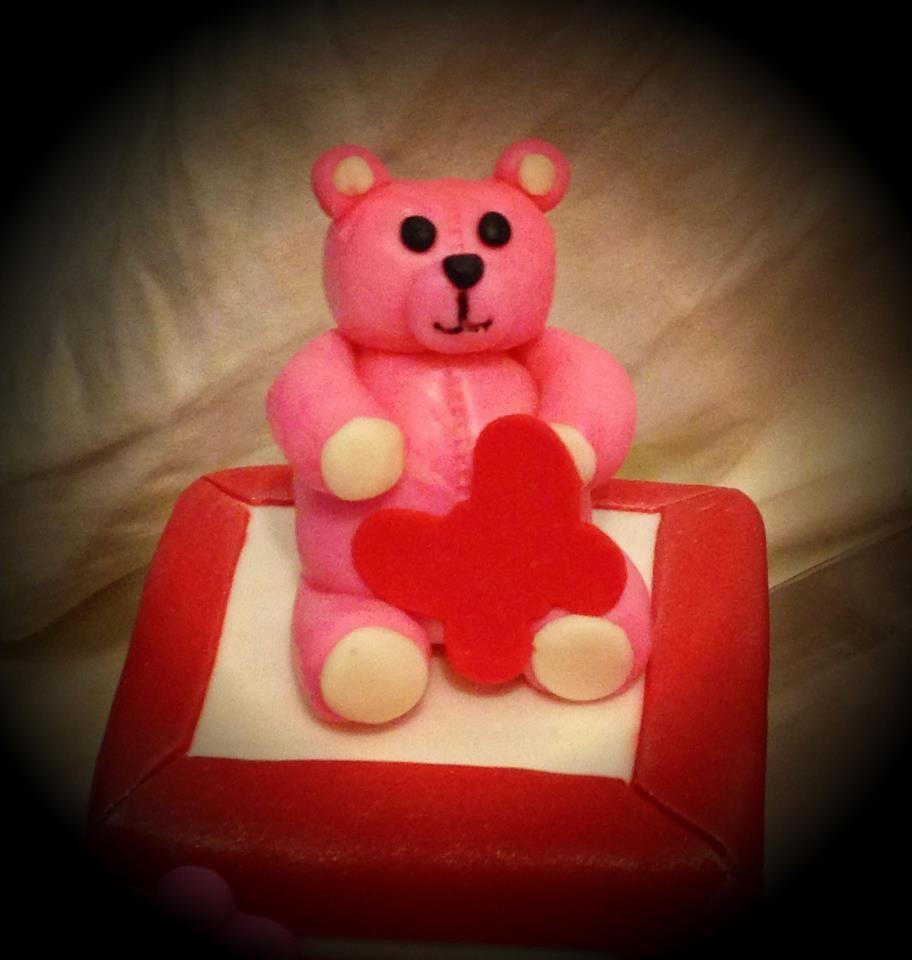 Pink & Red Baby Blocks