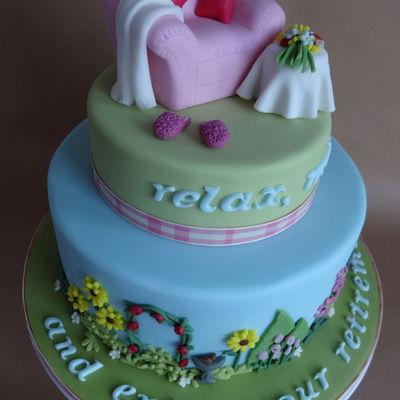 Retirement Cake Decorating Photos