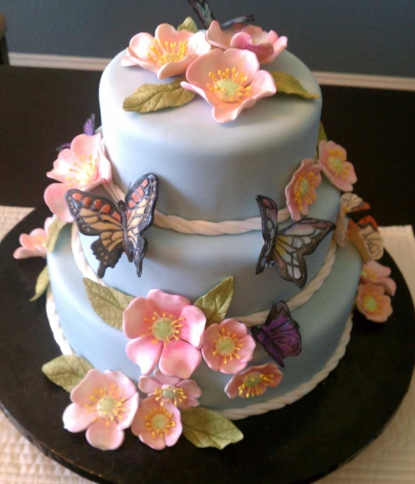Top Butterfly Cakes Cakecentralcom