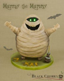 Hotel Transylvania Mummy Cake