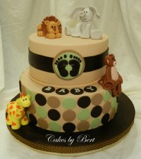 Baby Animal Themed Baby Shower - CakeCentral.com