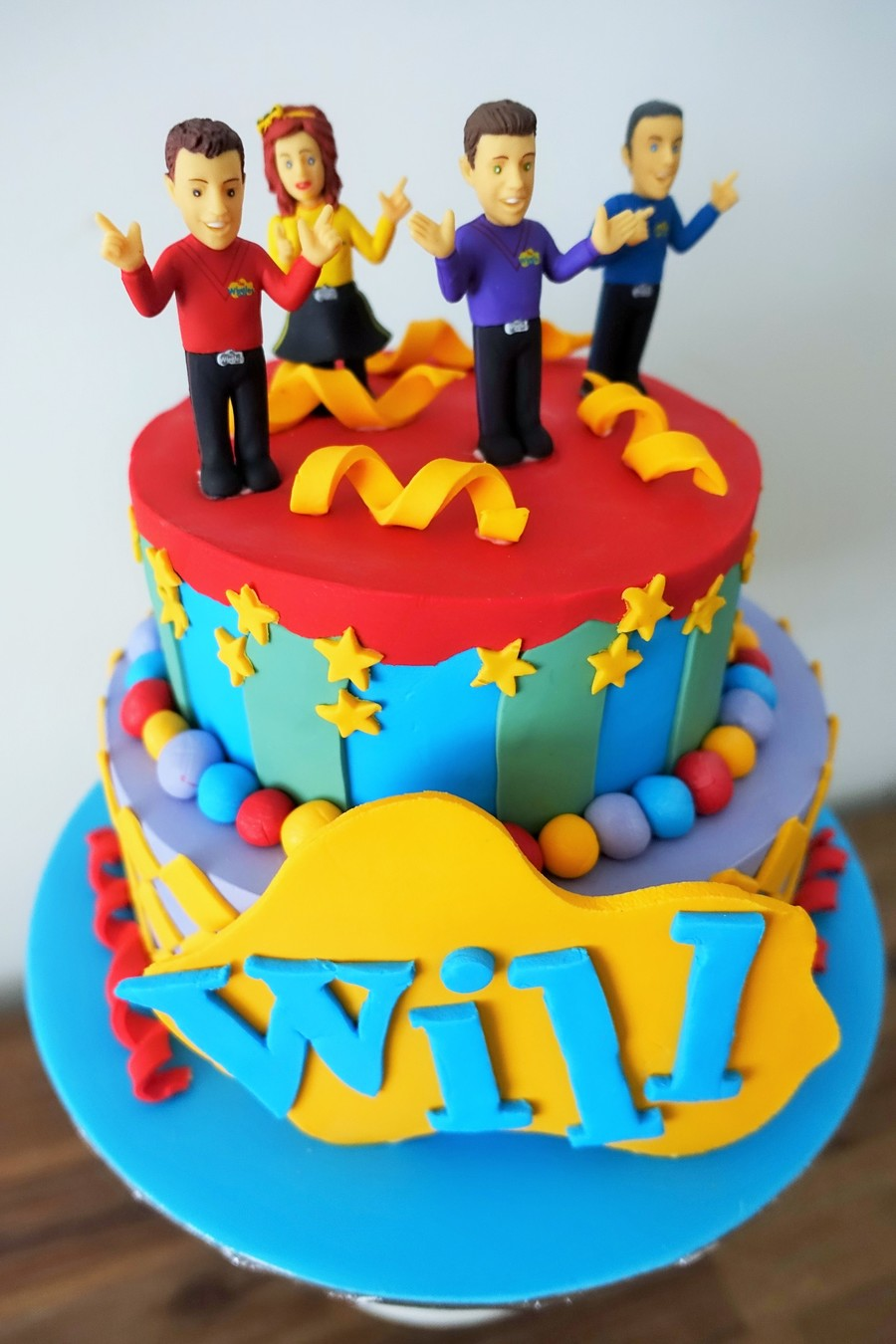 Will's Wiggles Cake CakeCentral Com