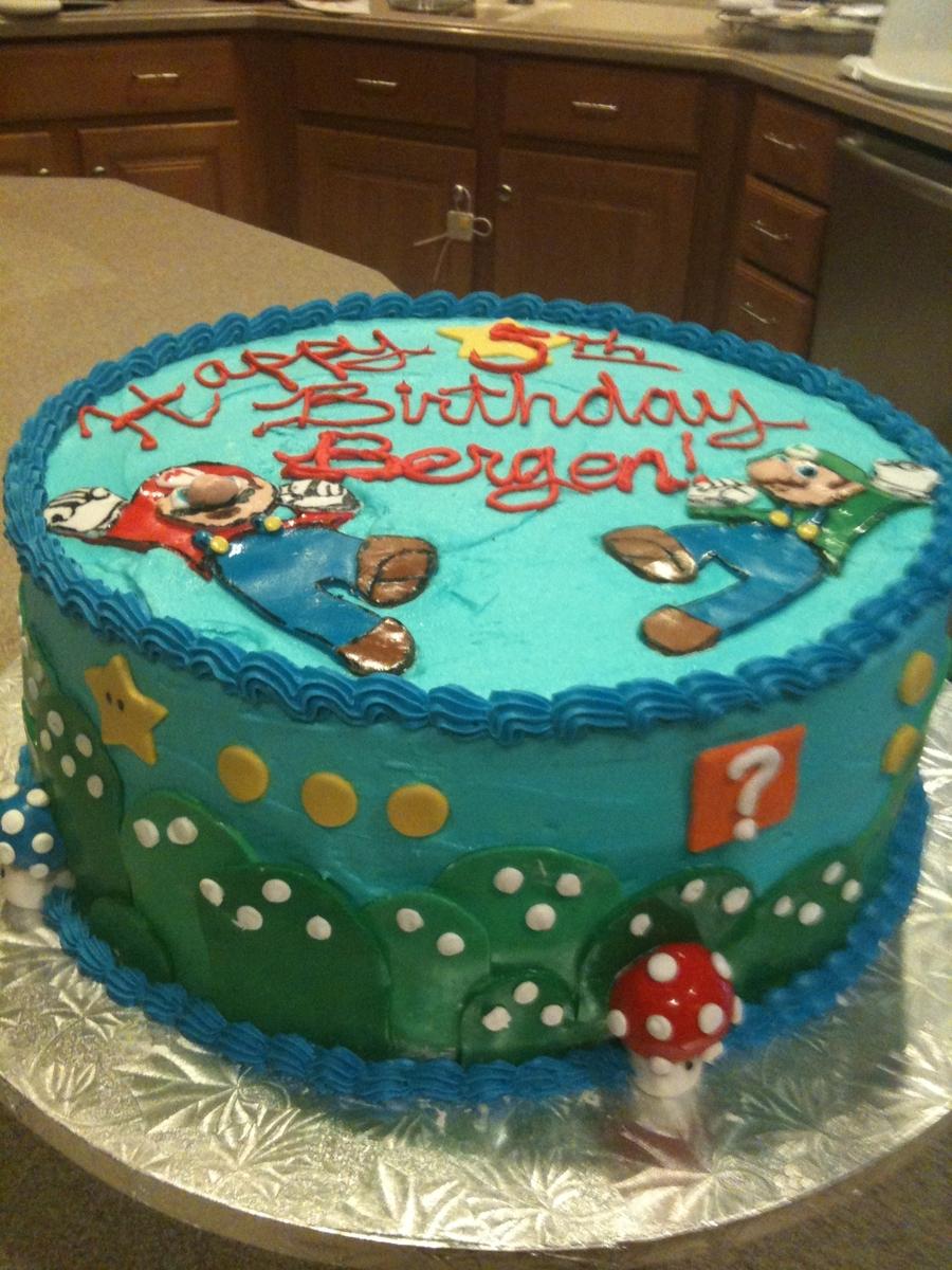 Super Mario Cake Cakecentral Com