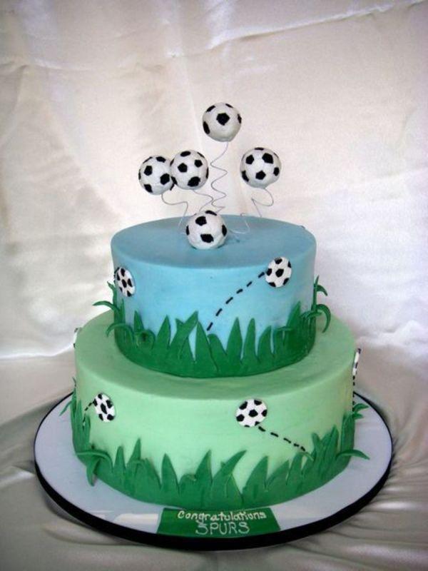 Soccer Team Cake CakeCentralcom