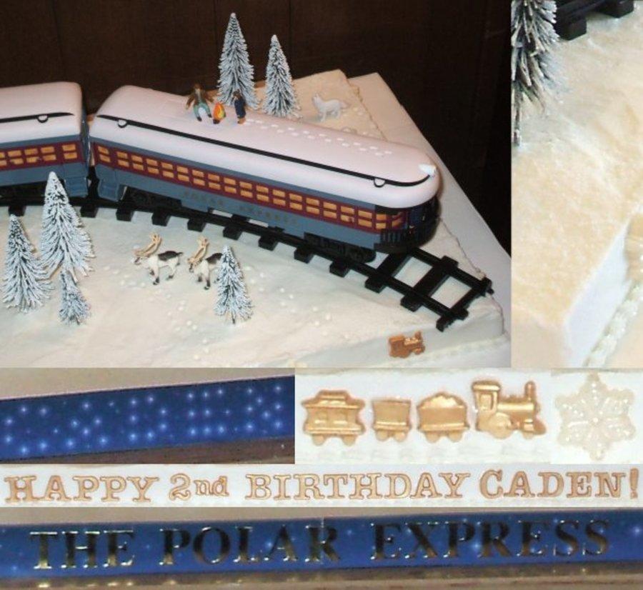 Caden S Polar Express Cakecentral Com