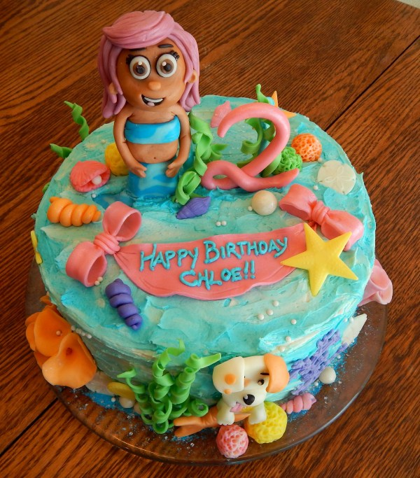 Molly Bubble Guppies Cake Girls Vtwctr