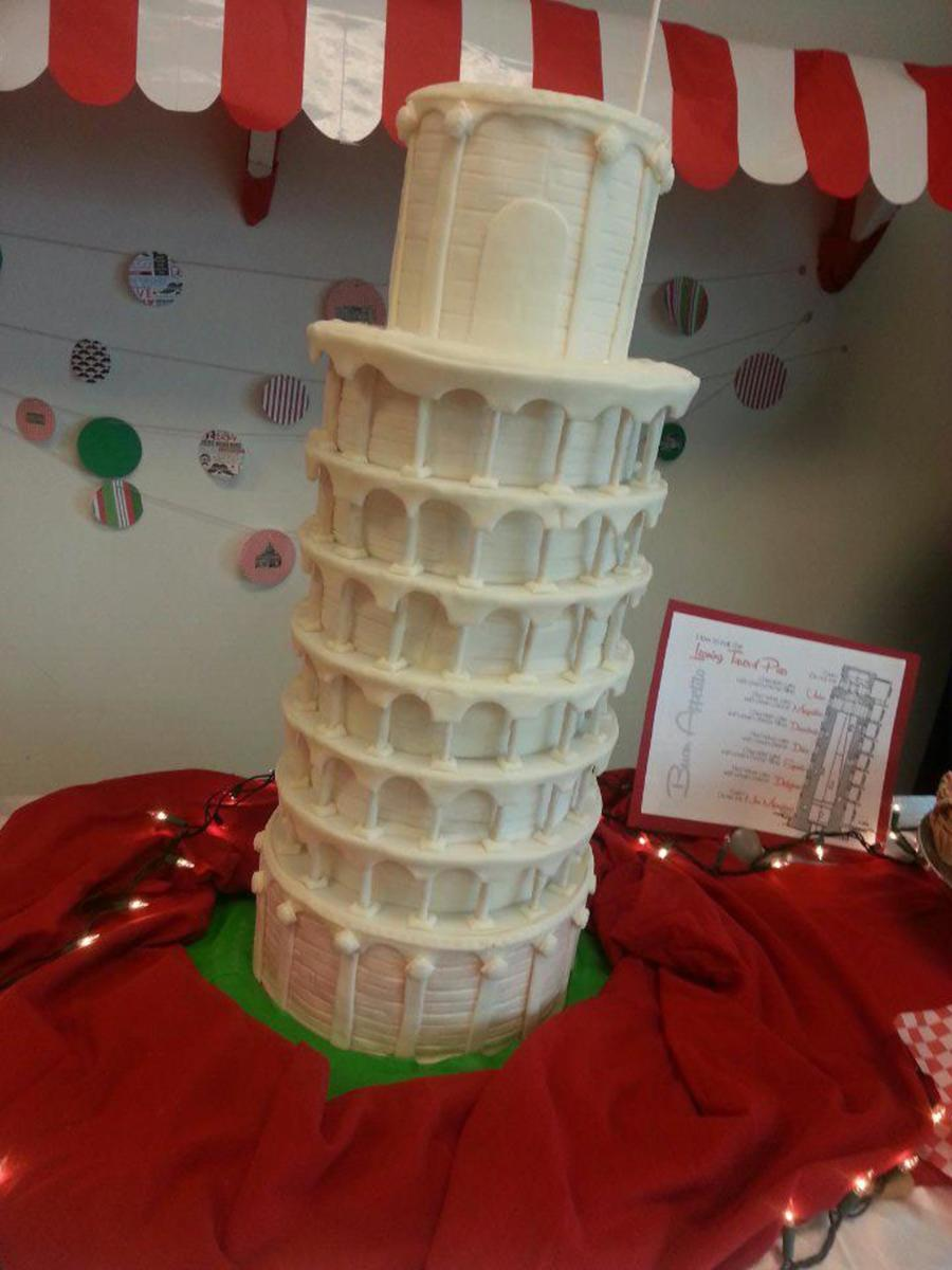 A Night In Italy Leaning Tower Of Pisa  CakeCentralcom