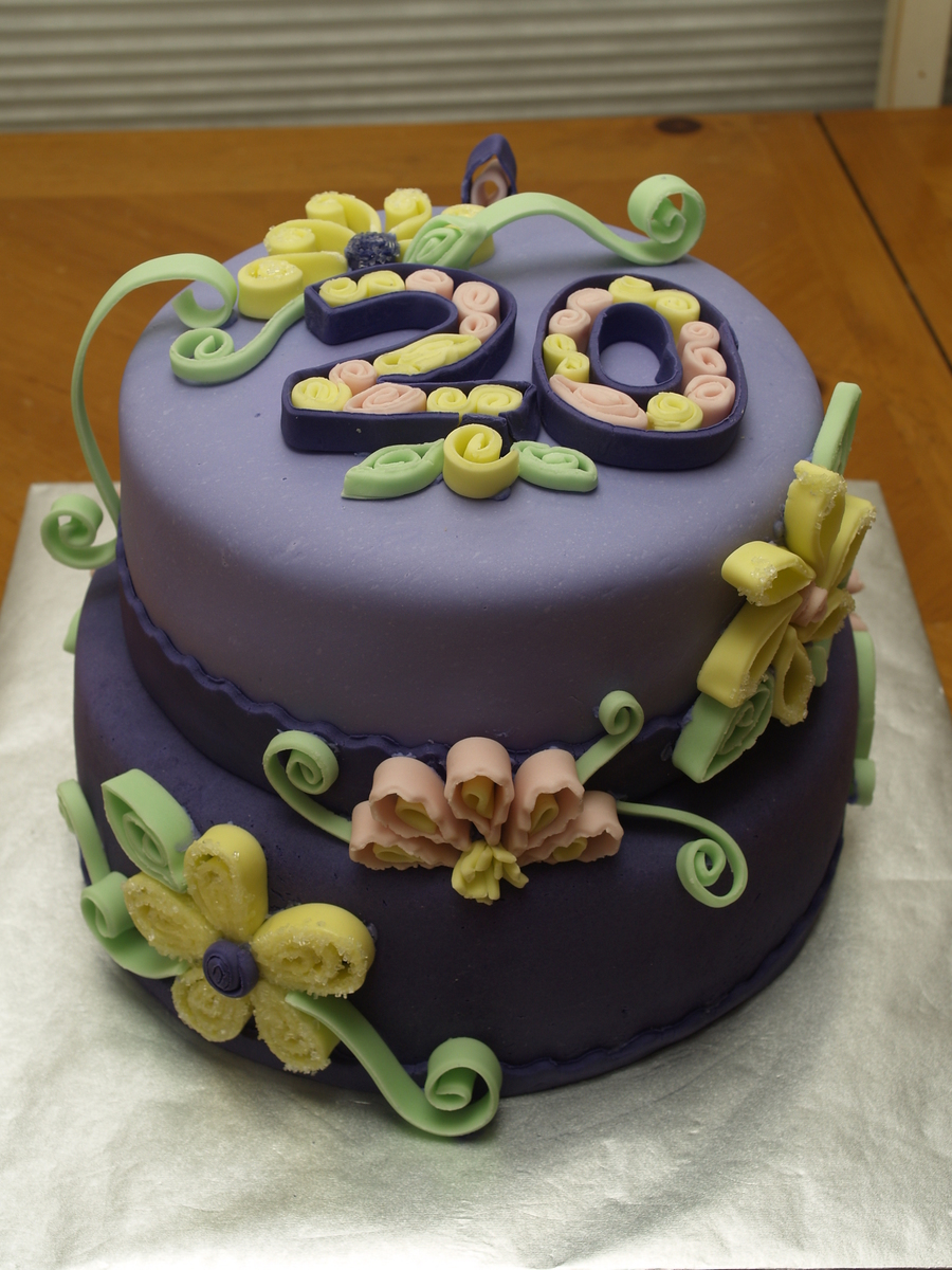 20th Birthday Cake Cakecentral Com