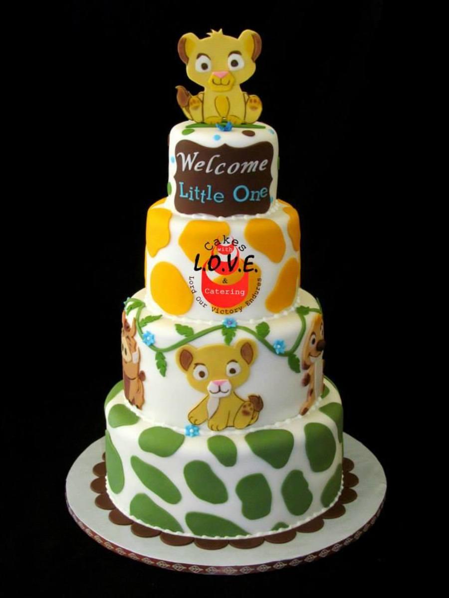 Lion King Babyshower  CakeCentralcom