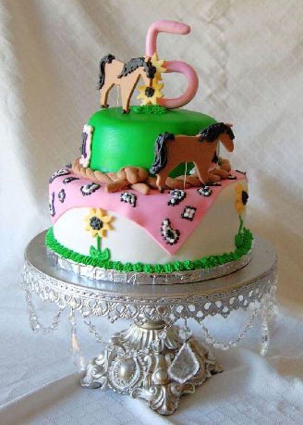 Girls Horse Birthday Cake Ideas